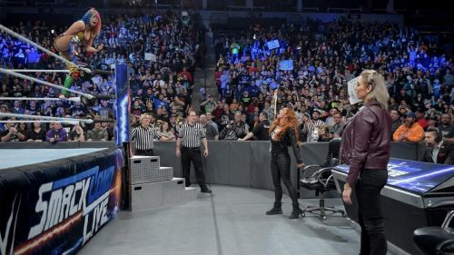 It will be a welcome break from the usual suspects on SmackDown Live