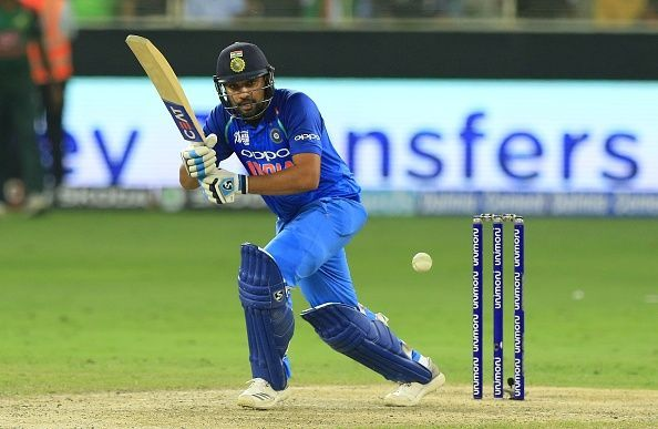 Rohit Sharma moved up by three places