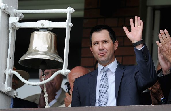 England v Australia: 2nd Investec Ashes Test - Day One - Ricky Ponting rings the bell