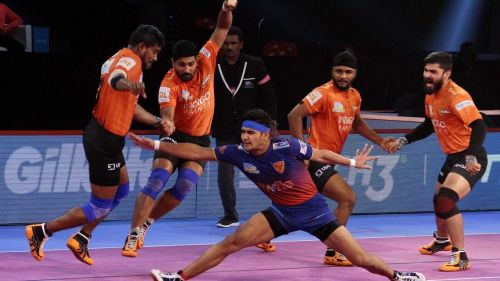 Can Naveen Kumar get his form back in the match against the Haryana Steelers?