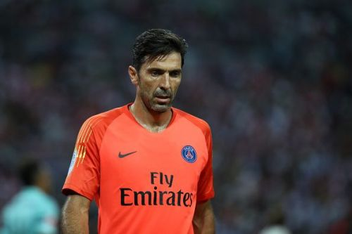 Buffon could make his first Champions League appearance of the season.