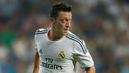 Ozil played for Madrid between 2010 and 2013