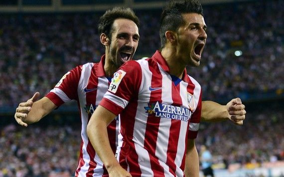 David Villa is a legend in Spain and had a successful stint with Atletico Madrid in 2013-14