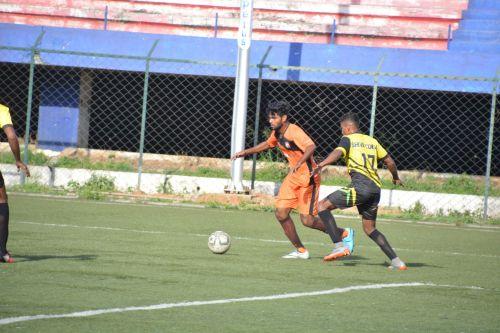 Rizwan Ali scores the opening goal
