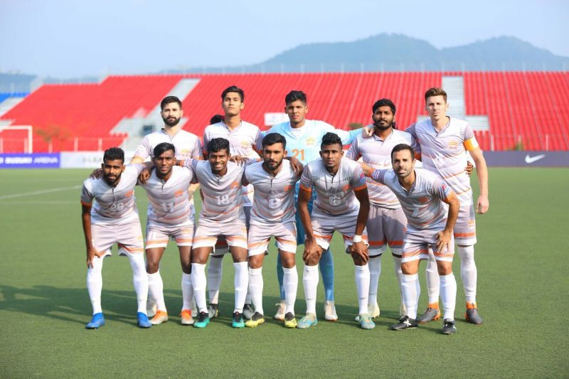 Chennai City FC remained on top of the I-League table