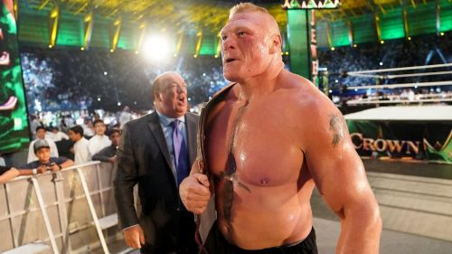 Brock Lesnar wins the Universal Title