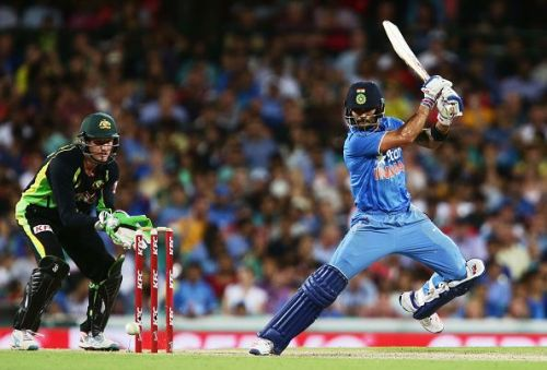 India lead the Aussies 10-5 head to head in T20 encounters