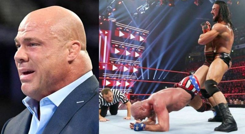 There is more to Drew McIntyre squashing Kurt Angle, than what meets the eye