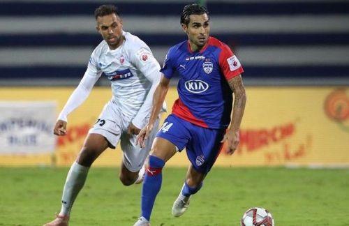 Dimas Delgado ran the show in midfield for Bengaluru against Pune City [Image: ISL]