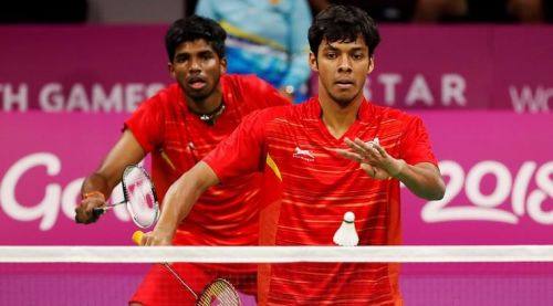 Rankireddy and Chirag move into the quarter finals