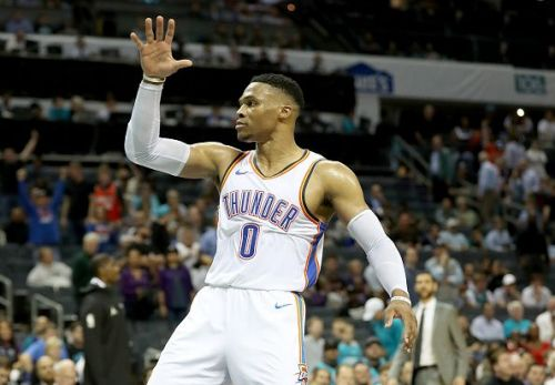Russell Westbrook has averaged a triple-double in two consecutive seasons