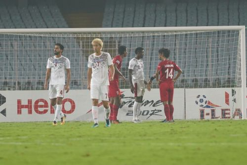Mohun Bagan were beaten at home convincingly by the visiting Churchill Brothers