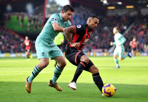 Arsenal took on Bournemouth at the Vitality stadium