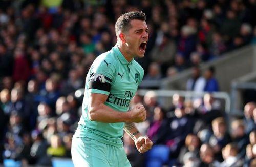 Xhaka has established himself as a key midfielder for Arsenal