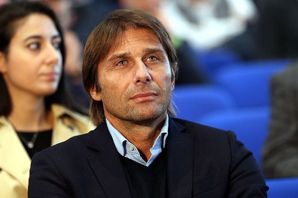 Conte was sacked in favor of Maurizio Sarri by Chelsea