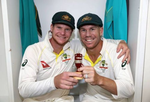 Smith & Warner are serving a 12-month ban