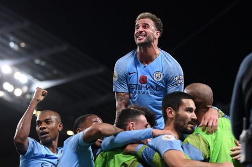 Manchester City were the better team on the night