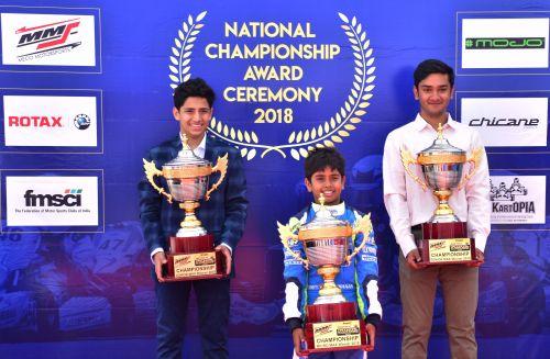 L-R Shahan, Ishaan and Debarun