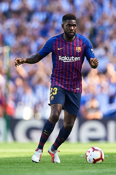 The returning Samuel Umtiti will be a welcome relief for Barcelona