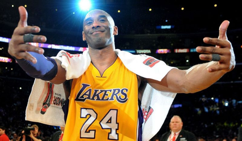 Lakers retired both the 8 & 24 jerseys that Kobe wore