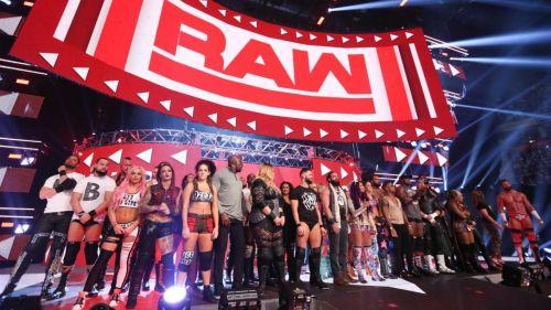 WWE रॉ रोस्टर