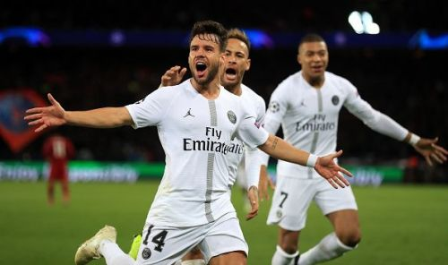 Bernat deservedly put PSG ahead in the 13th minute