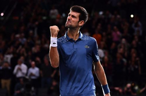 Djokovic edged Federer in an instant classic in the Paris Masters Semi Final