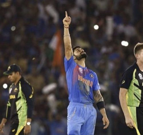 Kohli singlehandedly took India to the semi-final in the 2016 World T20