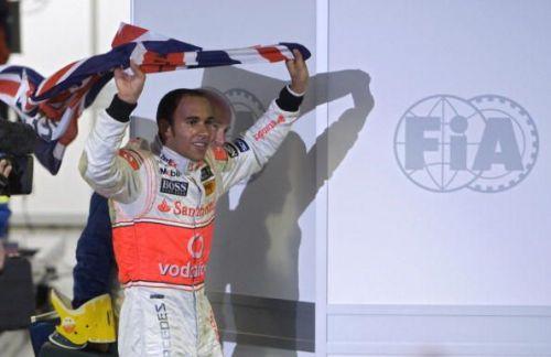 Hamilton wrapped up the 2008 championship at Interlagos