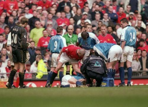 Roy Keane committed one of the most barbarous fouls in football history on Alf Inge Haaland