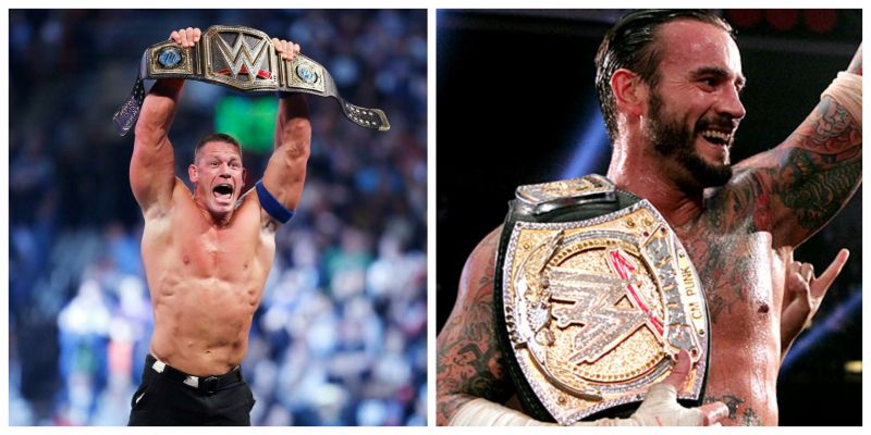 John Cena and CM Punk both hold WWE records