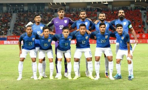 India's XI against China. Sunil Chhetri (No 11) will miss the tie due to an injury