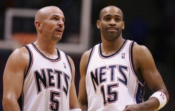 Jason Kidd and Vince Carter made it to this list