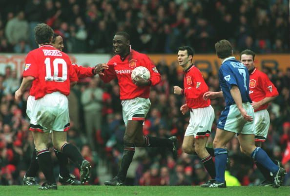 Andrew Cole during his time with Manchester United