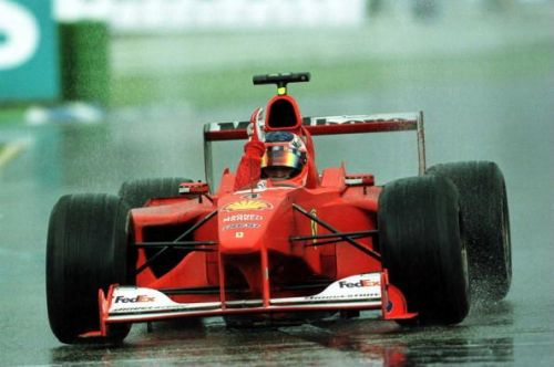 Rubens Barrichello scored his first win in F1 in 2000