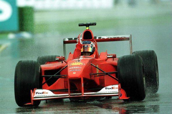 Rubens Barrichello scored his first win in F1 in 2000