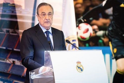 It looks like Real Madrid President, Florentino Perez, has some grand plans in the pipeline