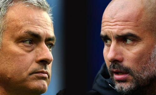 Pep Guardiola has the head-to-head advantage over his rival Jose Mourinho