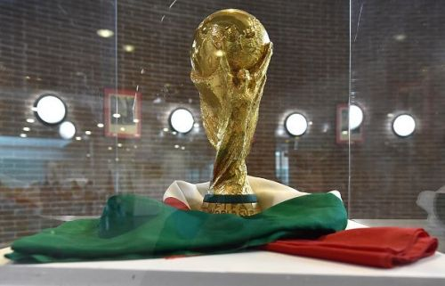 Italian Football Federation Trophies And Memorabilia Are Displayed In Turin