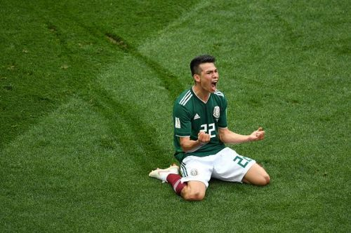 Hirving Lozano enjoyed a great FIFA World Cup 2018 with Mexico