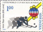 STAMP OF INDIA 1982 WORLD CUP HOCKEY