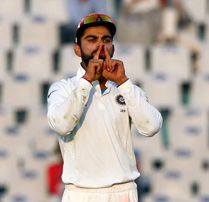 Kohli recently faced a lot of flak for his comment to an Indian fan.