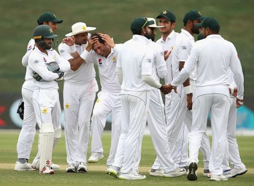 Yasir Shah put the hosts in command