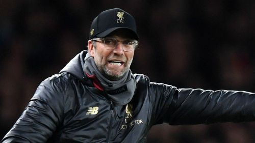Liverpool hosted Fulham at Anfield