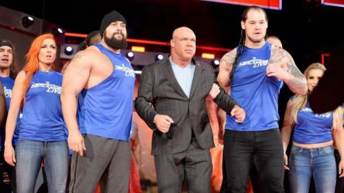 Smackdown's invasion of Raw was a really cool moment.