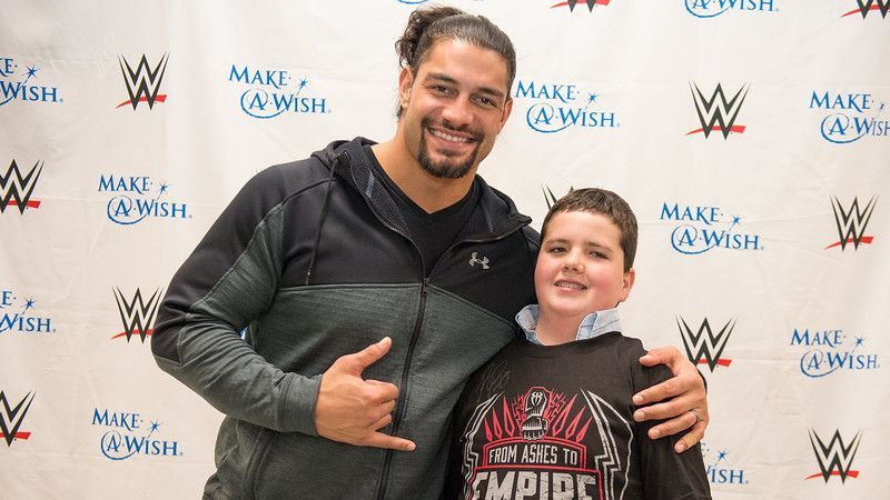 Roman Reigns has always had time for his fans