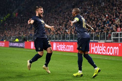United came from behind to beat Juventus 1-2