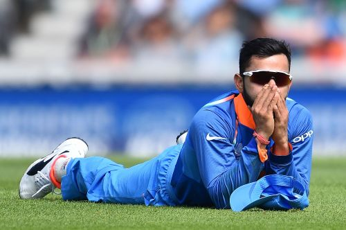 Kohli played a false stroke