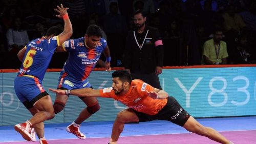 Darshan Kadian was the top raider for U Mumba