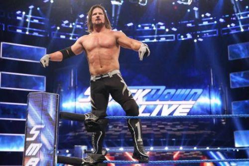 AJ Styles made SmackDown